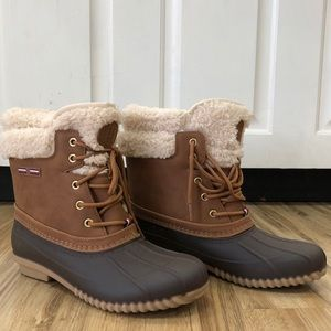 Tommy Hilfiger Duck Boots Snow Rain